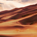 The Great Sand Dunes Of Colorado - Landscape - Sunset by Jason Politte