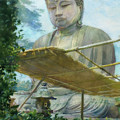 The Great Statue Of Amida Buddha At Kamakura by John La Farge