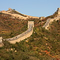 The Great Wall On Beautiful Autumn Day by Carol Groenen