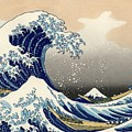 The Great Wave Off Kanagawa by Celestial Images