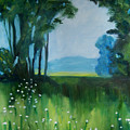 The Green Of Spring by Renee Gandy