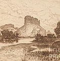 The Green River, Wyoming Territory by Thomas Moran