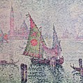 The Green Sail by Paul Signac