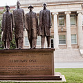The Greensboro Four February One Monument by Arnold Hence
