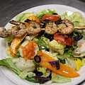 The Grilled Shrimp Salad by Margie Avellino