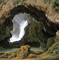 The Grotto Of Neptune In Tivoli by Celestial Images