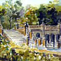 The Grotto Steps by Chris Coyne