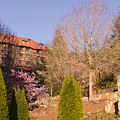 The Grove Park Inn On A Spring Evening by MM Anderson