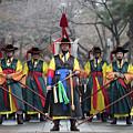 The Guards Of Seoul. by Peteris Vaivars
