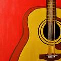The Guitar by Mesa Teresita