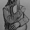 The Guitarist by Vineeth Menon