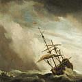 The Gust 3 by Willem van de Velde