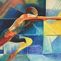 The Gymnast  by Benedict Olorunnisomo