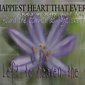 The Happiest Heart That Ever Beat by Vicki Ferrari