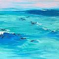 The Happy Beach by Eva Olga Balazs