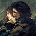 The Happy Lovers by Gustave Courbet