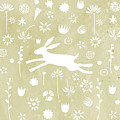 The Hare In The Meadow by Nic Squirrell