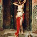 The Harem Beauty by Henri Adrien Tanoux