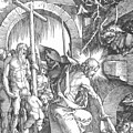 The Harrowing Of Hell Or Christ In Limbo From The Large Passion 1510 by Durer Albrecht