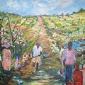 The Harvest by Impressionist FineArtist Tucker Demps Collection