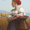 The Harvester by William-Adolphe Bouguereau