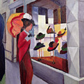 The Hat Shop by August Macke