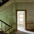 The Haunted Staircase - Abandoned Building by Dirk Ercken