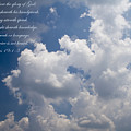 The Heavens Declare The Glory Of God by Kathy Clark
