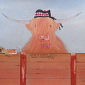 The Heiland Coo At Christmas by Gordon Ogilvie