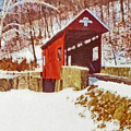 The Henry Bridge In Winter by Digital Photographic Arts