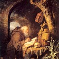 The Hermit 1670 by Dou Gerrit