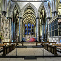The High Altar In Salisbury Cathedral by Phyllis Taylor