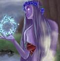 The High Priestess by Monika Garvalova