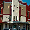 The Historic Texas Theatre by Mountain Dreams