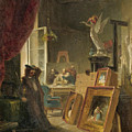 The History Painter by Carl Spitzweg