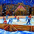 The Hockey Rink by Carole Spandau
