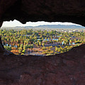 The Hole-in-a-rock Popago Park Phoenix Arizona by Toby McGuire