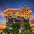 The Hollywood Tower Hotel Disneyland by Thomas Woolworth