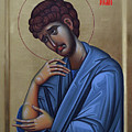 The Holy Apostle And Evangelist John The Theologian by Lembrau Iulian