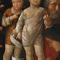 The Holy Family With St John by Mantegna Andrea