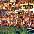 The Holy Ganges - Paint by Steve Harrington