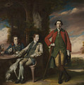 The Honorable Henry Fane With Inigo Jones And Charles Blair by Joshua Reynolds