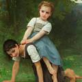 The Horseback Ride by Adolphe William Bouguereau