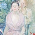 The Hortensia by Berthe Morisot