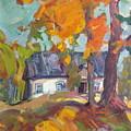 The House In Chervonka Village by Sergey Ignatenko