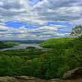 The Hudson From Bear Mountain by Raymond Salani III