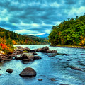 The Hudson River In The Fall by David Patterson