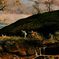 The Hunt Of Diana 1896 by Bocklin Arnold