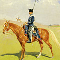 The Hussar by Frederic Sackrider Remington