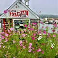 The Ice Cream Store On Bearskin Neck by Patricia E Sundik